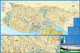 Santa Cruz County Bike Map - County-wide