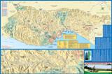 Santa Cruz County Bike Map - County-wide