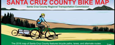 2016 Santa Cruz County Bike Map Now Available