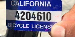 SCPD Offers FREE Online Bike Registration