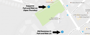 Old Dominion Ct Park and Ride Lot Closed Thursday, November 17