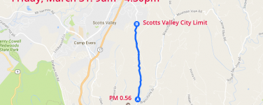 Expect Road Delays on Granite Creek Rd on 3/31