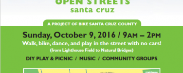 Open Streets Santa Cruz Returns Oct 9