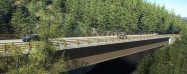 Hwy 1 at Pfeiffer Canyon Bridge Completed