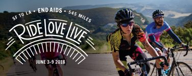 AIDS/LifeCycle on Hwy 1 & 101 6/3-6/4